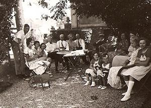 Famille BOSSELET à Lagny en 1935