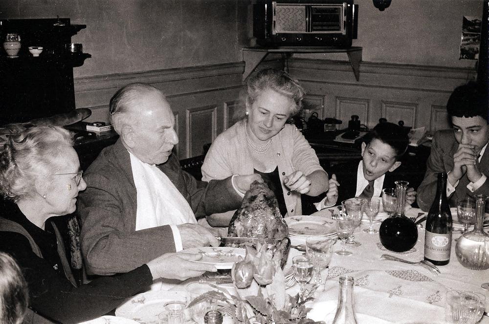 Noël chez les GERVOIS-BOSSELET en 1960
