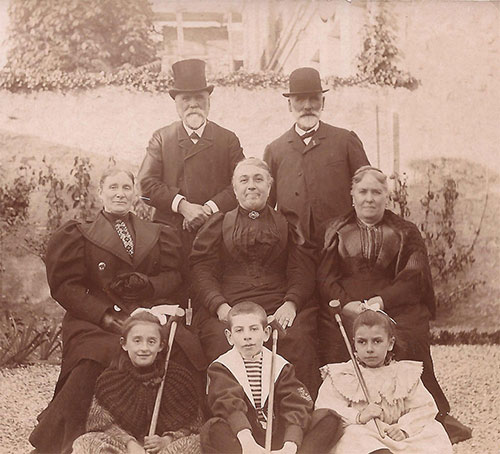 Famille GUYARD chez les SIMON en 1895