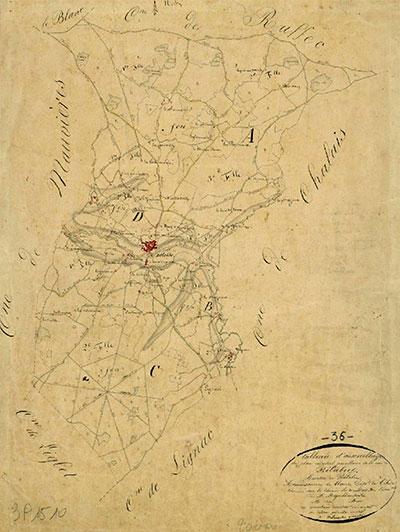 Belâbre - Cadastre 1833