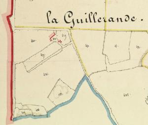 La Guillerande - Cadastre 1833