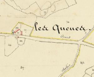 Les Queues - Cadastre 1833